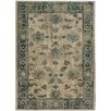 Wildon Home ® Agave Distressed Traditional Ivory & Blue Area Rug