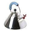 Alessi 2 Qt. Signature Whistle Tea Kettle