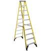 Werner 10 ft Fiberglass Step Ladder with 375 lb. Load Capacity