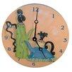 """Lexington Studios Home and Garden 10"""" Whimsical Teapots Wall Clock"""