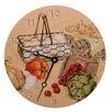 """Lexington Studios Home and Garden 18"""" Recipes Wall Clock"""