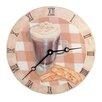 """Lexington Studios Home and Garden 10"""" Cappuccino Wall Clock"""