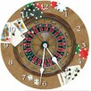 "Lexington Studios 18"" Gambler Wall Clock"