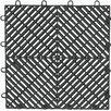 Gladiator Drain Tile Flooring (Set of 4)