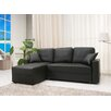 Gold Sparrow Aspen Convertible Sectional Storage Sofa Bed