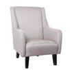 Gold Sparrow Anaheim Wingback Arm Chair