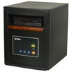 Optimus 1,500 Watt Portable Electric Infrared Cabinet Heater with Remote LED