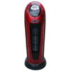 Optimus Portable Electric Fan Tower Heater with Digital Temperature Readout and Oscillating