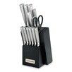 Farberware Stamped 15 Piece Knife Block Set Amp Reviews