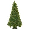 General Foam Plastics 7' Royal Mixed Pine Christmas Tree with 500 Clear Lights