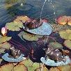 Brass Baron Lazy Frog Fountain