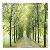 Oriental Furniture Path of Life Photographic Print on Wrapped Canvas