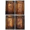 Oriental Furniture Celestial Music 4 Piece Graphic Art on Canvas Set