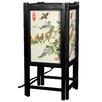 "Oriental Furniture Art Shoji Bird 14"" H Table Lamp with Rectangular Shade"