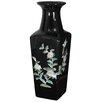 Oriental Furniture Square Vase