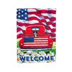 Evergreen Enterprises, Inc Patriotic Pup Truck Vertical Flag