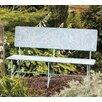 Evergreen Enterprises, Inc Bird Stories Metal Garden Bench