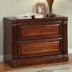 Parker House Furniture Wellington Library 2-Drawer Lateral File