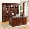 Parker House Furniture Wellington Executive Desk and Bookcase