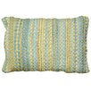 LR Resources Braided Altair Accent Cotton Lumbar Pillow