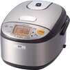 Zojirushi 3-Cup Stainless Induction Heating System Rice Cooker and Warmer