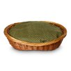 Snoozer Pet Products Luxury Wicker Shaker Mojito Dog Basket and Bed