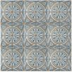 "EliteTile Royalty 17.75"" x 17.75"" Ceramic Field Tile in Multi"