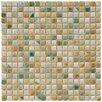 "EliteTile Arcadia 0.563"" x 0.563"" Porcelain Mosaic Tile in Springfield"