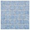 "EliteTile Pool 2"" x 2"" Porcelain Mosaic Tile in Alboran"