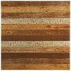 "EliteTile Canadia 17.75"" x 17.75"" Ceramic Wood Look Tile in Natural"
