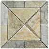 EliteTile Peak Vintage Quartzite Random Sized Slate Mosaic Tile in Arizona