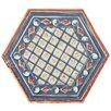 "EliteTile Hexitile 8"" x 7"" Porcelain Glazed Tile in Bene"