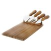 Natural Home Magnetic 5 Piece Cheese Platter Set