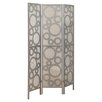 "Monarch Specialties Inc. 71"" x 54"" Frame Bubble Design 3 Panel Room Divider"