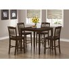 Monarch Specialties Inc. 5 Piece Counter Height Dining Set