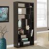 "Monarch Specialties Inc. 14 Shelf 72"" Standard Bookcase"
