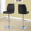 Monarch Specialties Inc. Adjustable Height Swivel Bar Stool with Cushion (Set of 2)