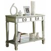 Monarch Specialties Inc. 2 Drawer Mirrored Console Table