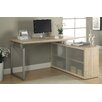 Monarch Specialties Inc. Kelsey L-Shaped Writing Desk