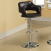 Monarch Specialties Inc. Adjustable Height Swivel Bar Stool with Cushion