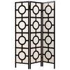 "Monarch Specialties Inc. 71"" x 52"" Frame 3 Panel Room Divider"