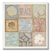 Stupell Industries Count the Waves Beach 9 Patch Wall Plaque