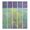 Stupell Industries Abstract Oils 5 Piece Wall Plaque Set