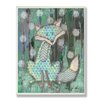 Stupell Industries The Kids Room Distressed Woodland Fox Wall Plaque