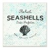 Stupell Industries Seashells Hunt, Collect, Display with Shell by Brandi Fitzgerald Graphic Art