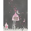 Secretly Designed Birdhouse Graphic Art Paper Print
