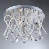 Warehouse of Tiffany Ribbon Drops 10 Light Crystal Chandelier