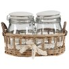 A&B Home Group, Inc 3-Piece Josie Jar Set (Set of 2)