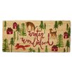 TAG Winter Wonderland Estate Doormat