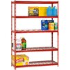 "Sandusky Cabinets Boltless Rivet Shelving 72"" H Five Shelf Shelving Unit"